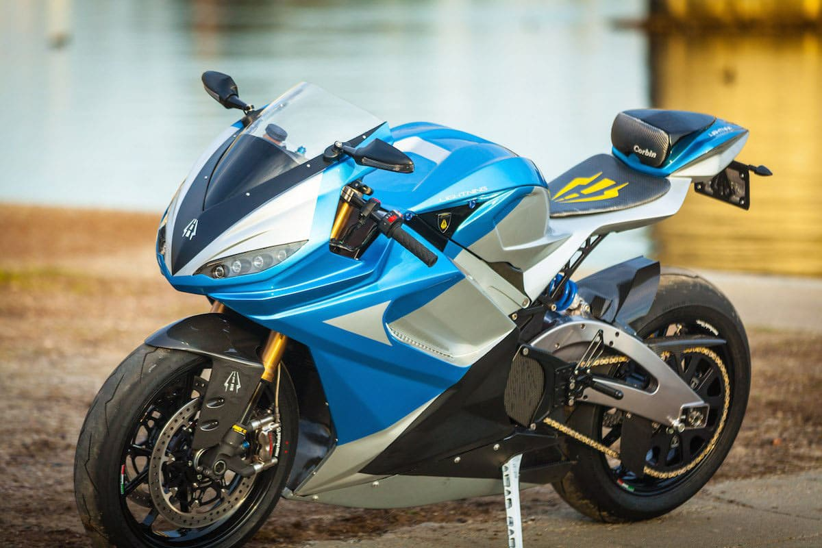 The Lightning LS-218 – The World's Fastest Electric Motorcycle